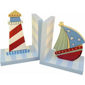 Wish Upon A Star Nautical Bookends