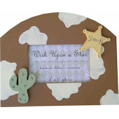 Wish Upon A Star Cowboy Picture Frame
