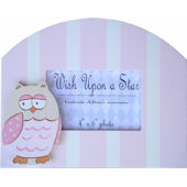 Wish Upon A Star Pink Owl Picture Frame
