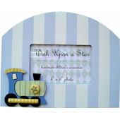 Wish Upon A Star Train Picture Frame