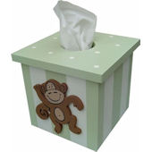 Wish Upon A Star Monkey Tissue Cover